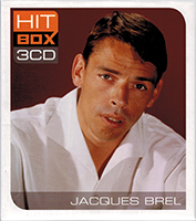 Jacques Brel Hit Box 3CD - Jacques Brel